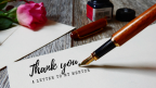 Thank You: A Letter to My Mentor